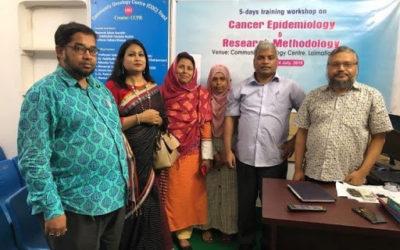 Meeting with Dr Habibullah Talukder Ruskin and Visit to NCD Clinic, Dhaka.