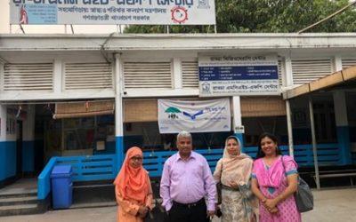Visit to RADDA, Mirpur
