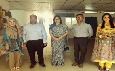 Interaction and collaboration with Bangladesh University of Health Science, BUHS.