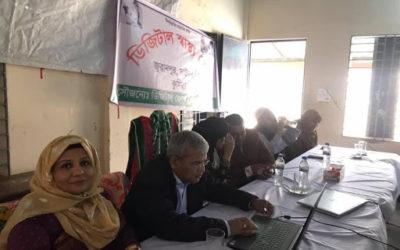 Telemedicine Campaign at Juranpur, Daudkandi.
